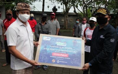 1.000 Paket Donasi Disalurkan untuk Nelayan Terdampak Covid-19