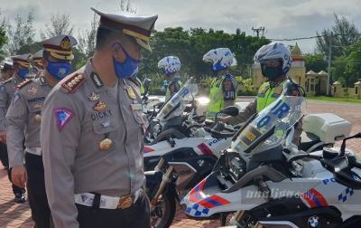 Konvoi Kendaraan Malam Takbiran, Kombes Dicky:Kita Bubarkan