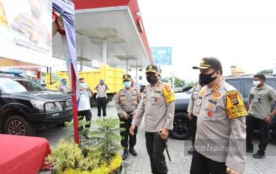 Jelang Lebaran, Irjen Martuani Cek Pos Pam Polrestabes Medan
