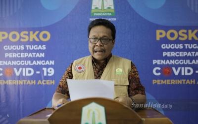 Corona di Aceh: Sembuh 16, Positif 2, Meninggal Dunia 1