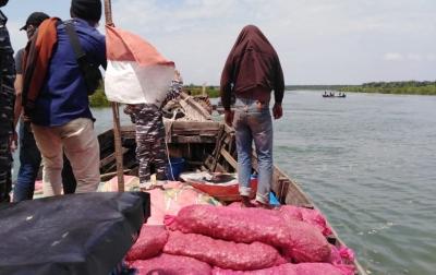Penyelundupan 25 Ton Bawang Merah Ilegal Digagalkan TNI AL