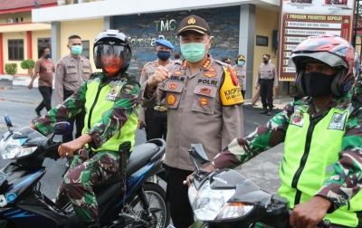 Polresta Deli Serdang Kerahkan 887 Personil Gabungan