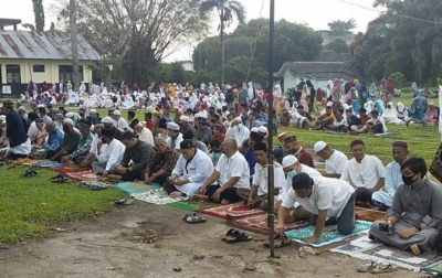 Muhammadiyah Tebingtinggi Gelar Salat Idul Fitri