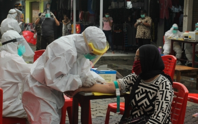 Corona di Indonesia: Sembuh 5.402, Positif 22.271