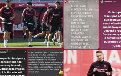 Langgar Protokol Kesehatan, 4 Pemain Sevilla Minta Maaf