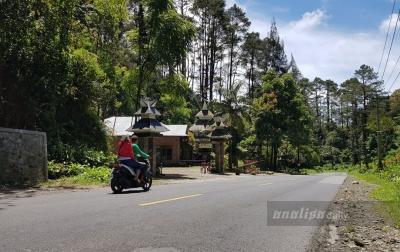 Suasana Idul Fitri, Jalan Medan - Berastagi Lengang
