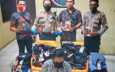 Mencuri Pakaian Untuk Lebaran, Seorang Waria Ditangkap Polisi