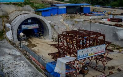 Foto: Proyek Pembangunan Kereta Cepat Jakarta Bandung