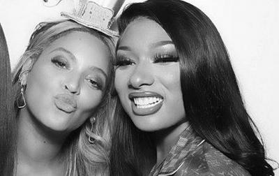 Duduki Puncak Billboard, Beyonce Kirim Bunga ke Megan