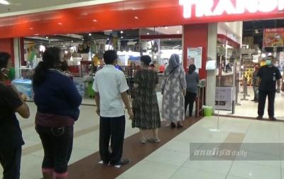 14 Mall di Medan Buka, Tapi Terapkan Protokol Kesehatan