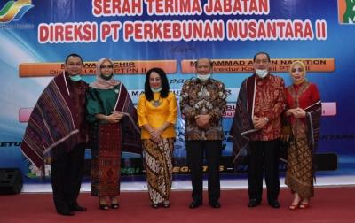 Marisi Butar-Butar Jabat Direktur PTPN II