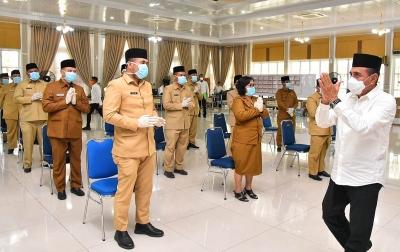 Lantik 46 Pejabat Eselon III, Gubsu Ingatkan Tentang Kejujuran dan Loyalitas