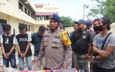 Komplotan Pencuri Sepeda Motor Personel Brimob Polda Sumut Ditangkap