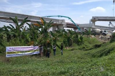 Osmar Simatupang Protes Pembangunan Jalan Tol Medan-Binjai
