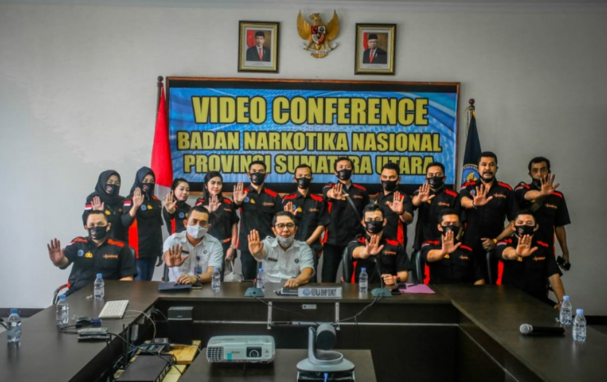 BNNP Sumut Apresiasi Gannas Dalam Komitmen Pemberantasan Narkoba