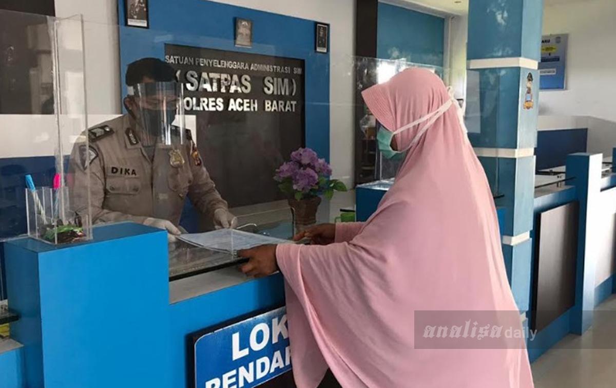 Dirlantas Polda Aceh Gratiskan Pembuatan Dan Perpanjangan Sim Nasional Analisadaily Com