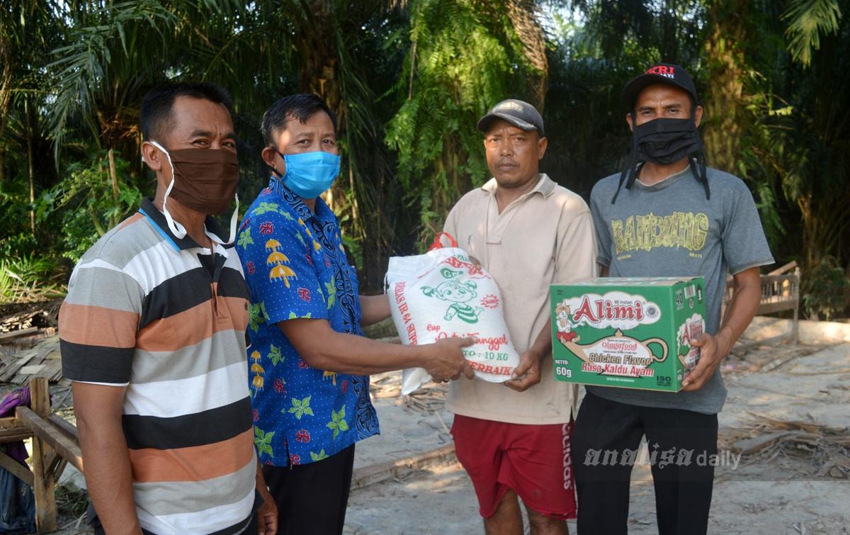 Kades Durian Berikan Bantuan Tanggap Darurat