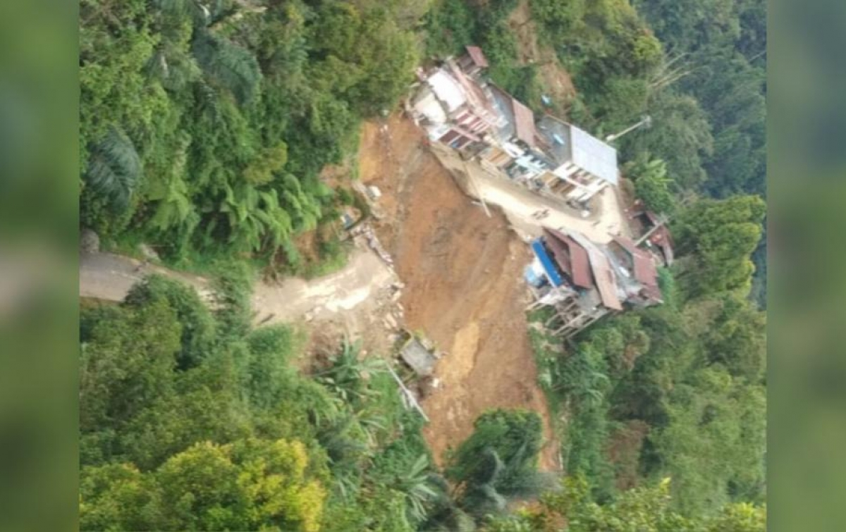 Longsor Terjadi di Kota Palopo, 9 Rumah Rusak Berat