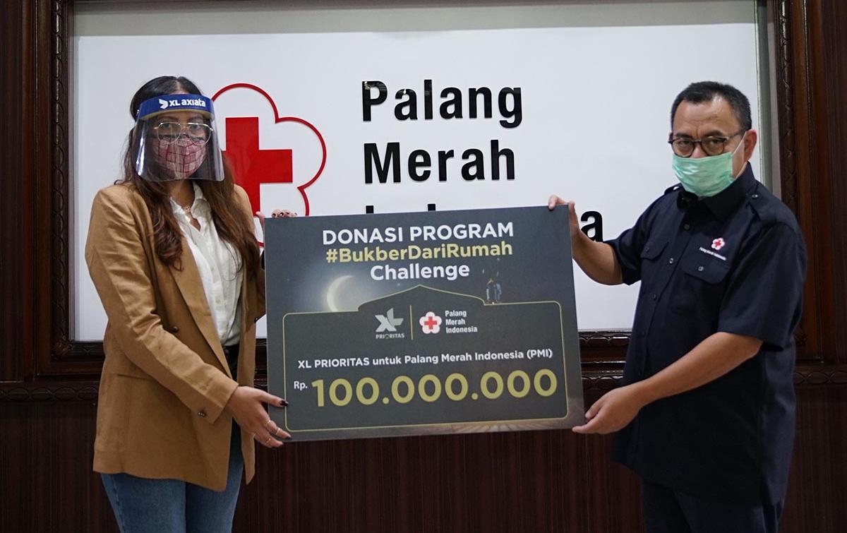 Peduli Masyarakat Terdampak Pandemi, XL Axiata Salurkan Donasi Melalui PMI