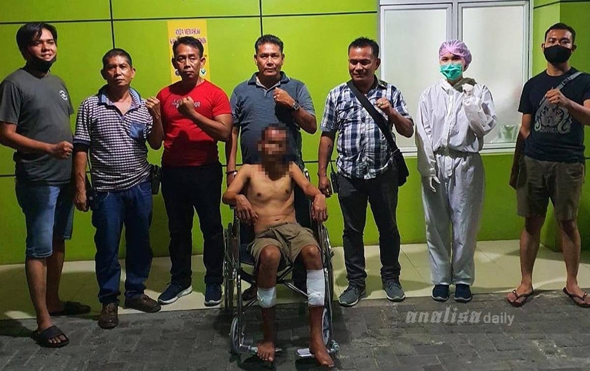 Lukai Korbannya Hingga Kritis, Pencuri Ditembak Tekab Polsek Medan Area