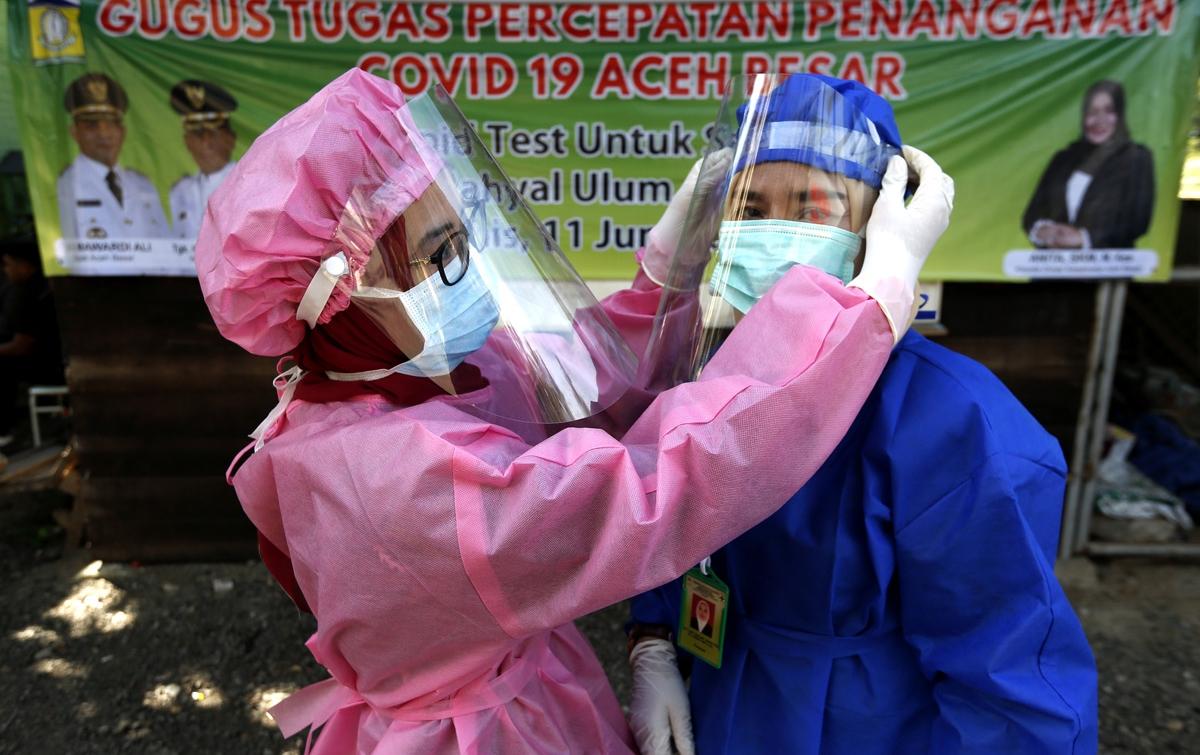 Dua Tenaga Medis di Aceh Positif Terinfeksi Corona