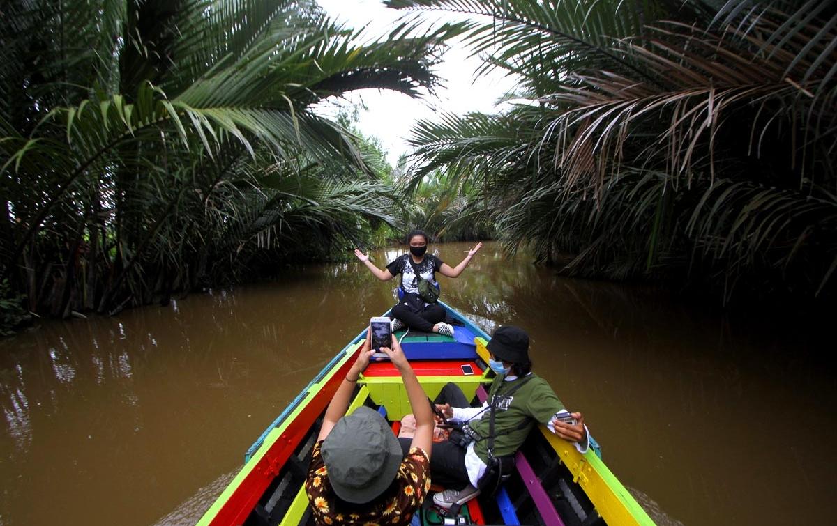 Foto: Wisata Susur Sungai di Banjarmasin