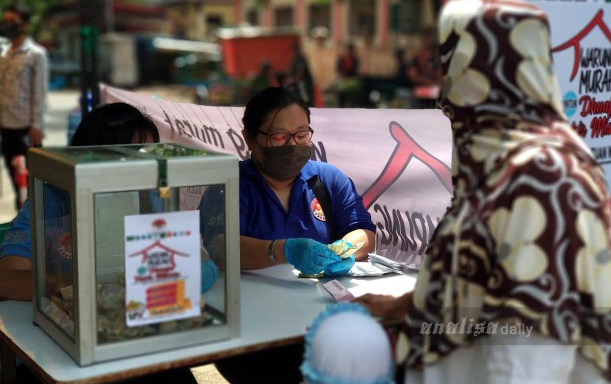 Bantu Masyarakat Kurang Mampu, Hakka Aceh Dirikan Warung Murah