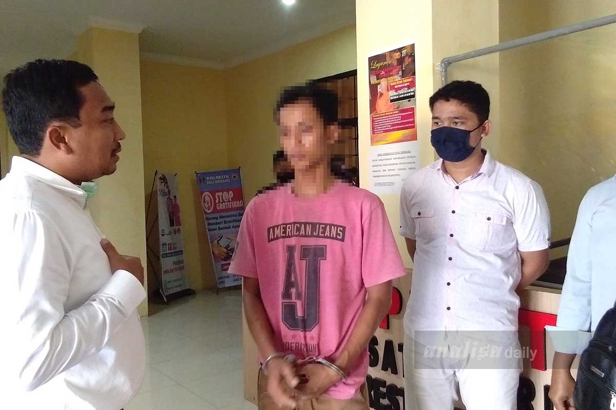 Pelempar BomMolotov ke Rumah Personel TNI Ditangkap Polisi