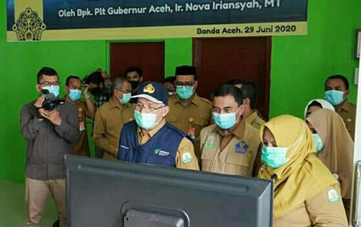 Tangani Pasien Covid-19, RSUDZA Banda Aceh Tambah 24 Ruang Isolasi