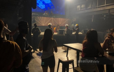 Langgar Protokol Kesehatan, Polisi Bubarkan Pengunjung Tempat Hiburan Malam