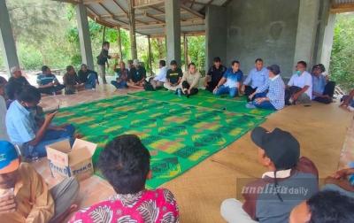 Anggota DPRD Sumut Akan Perjuangkan Hak Gapoktan Naga Jaya