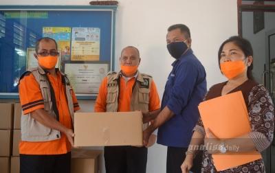 BPBD Sumut Salurkan Bantuan untuk Korban Puting Beliung