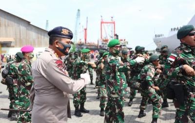 3 Pesan Kapolda Sumut untuk Satgas Pamtas RI-PNG