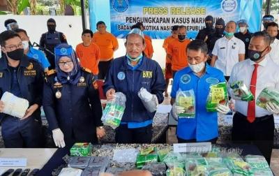 Badan Narkotika Nasional Gagalkan Peredaran Sabu dari Malaysia