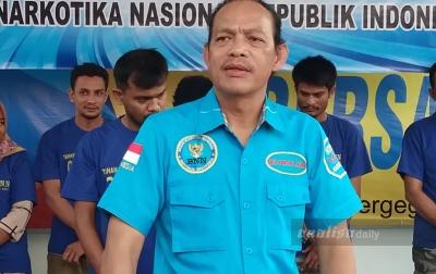 Sumatera Utara Peringkat Satu Penyalahgunaan Narkoba