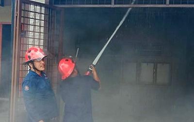 Dua Ruko dan Satu Rumah Terbakar di Medan Marelan