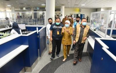 Jelang New Normal, Sekda Tinjau Kesiapan Bandara Kualanamu