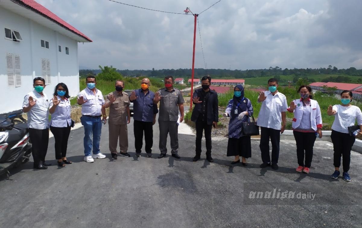 Anggota DPRD Sumut Kunjungi Rumah Sakit Khusus Covid-19 di Simalungun