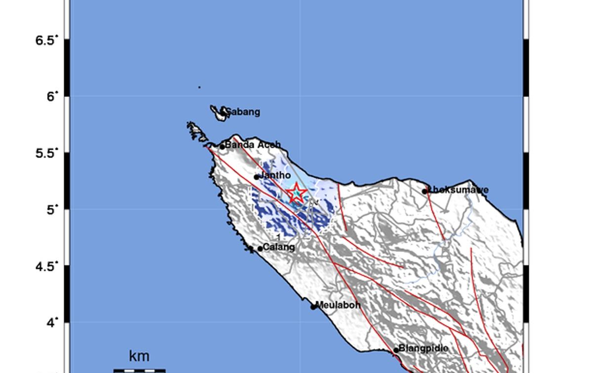 Gempa Bumi Tektonik Terjadi di Pidie
