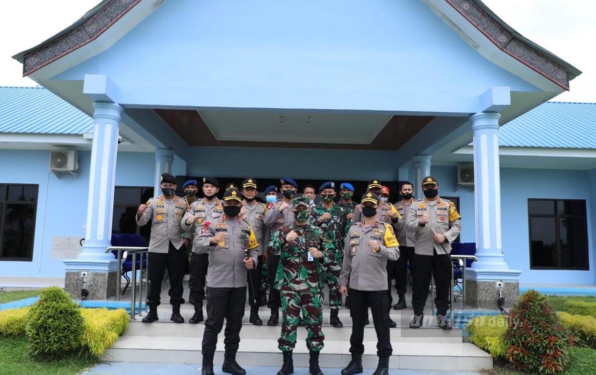 Jalin Sinergitas TNI-Polri, Kapolda Sumut Silaturahmi dengan Danlanud Soewondo