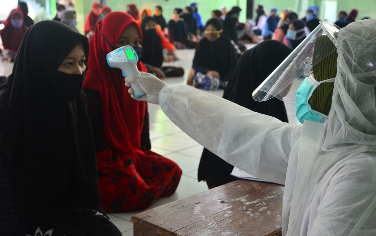 Pasien Positif Corona di Indonesia Bertambah 2.657