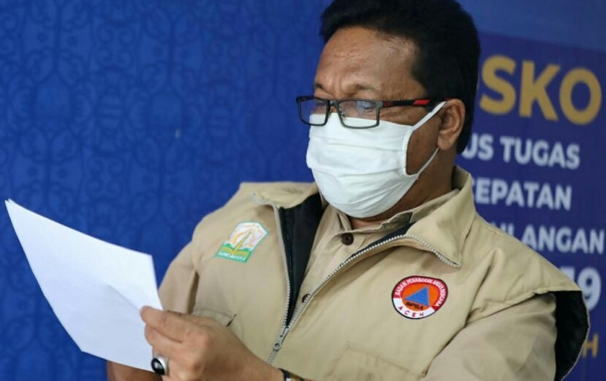 Sudah 90 Kasus Positif Covid-19 di Aceh, 54 Orang Dinyatakan Sembuh