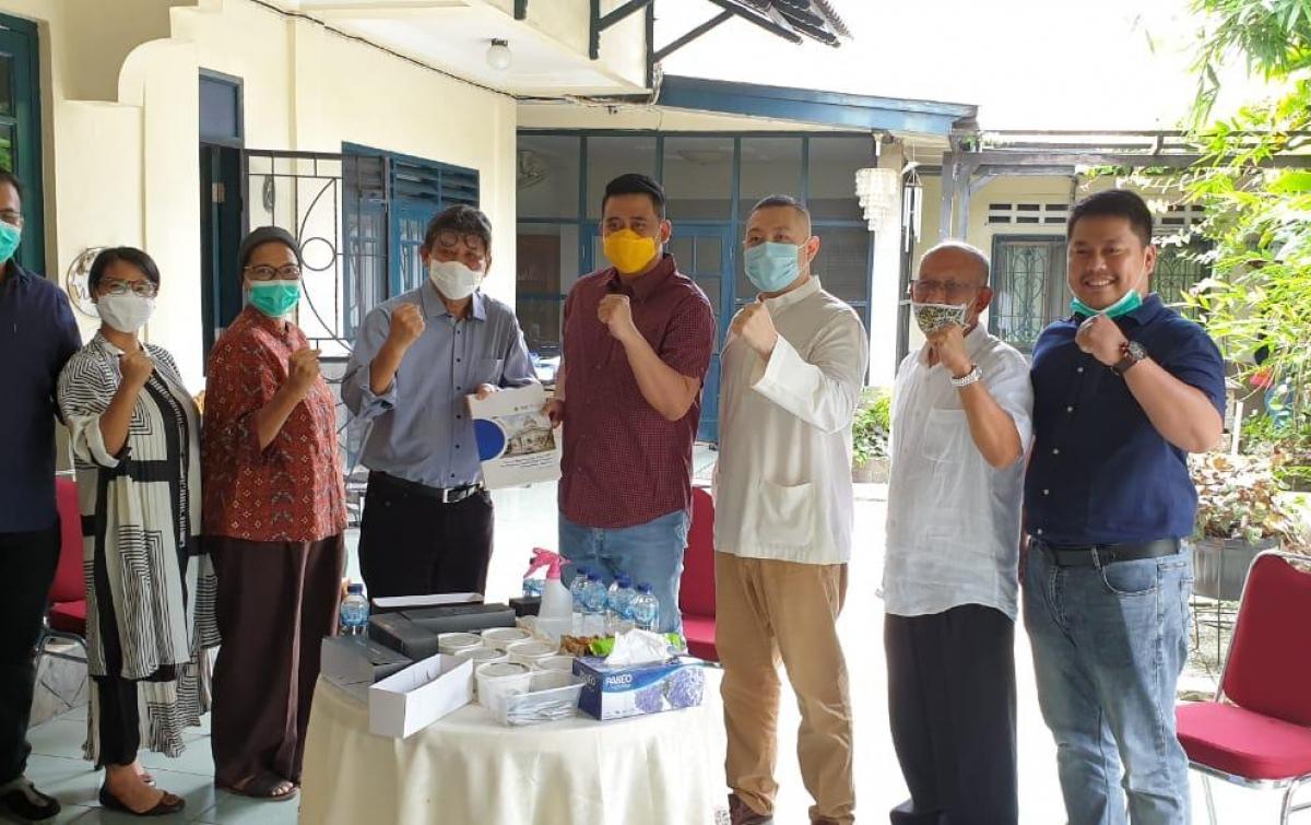 Bahas Kebijakan Pendidikan, Bobby Nasution Temui Prof Arif Nasution