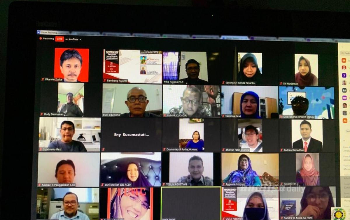 FIB USU Sukses Gelar Workshop Penulisan Jurnal Ilmiah