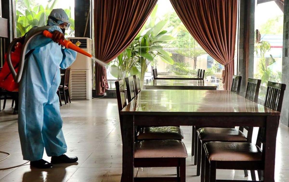 Kembali Buka, Tempat Kuliner Terapkan Protokol Kesehatan Ketat