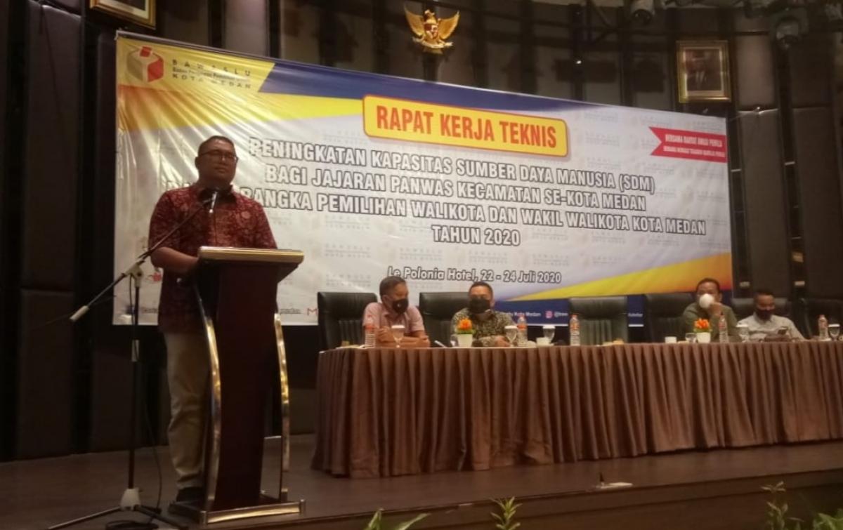 Pesan Anggota Bawaslu Ri Terhadap Panwascam Se Kota Medan Medan Analisadaily Com
