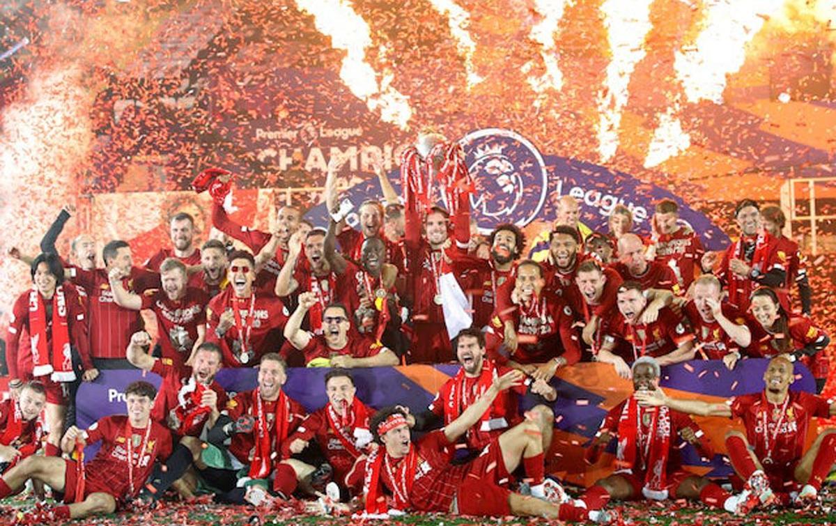 English Premier League Dimulai 12 September 2020