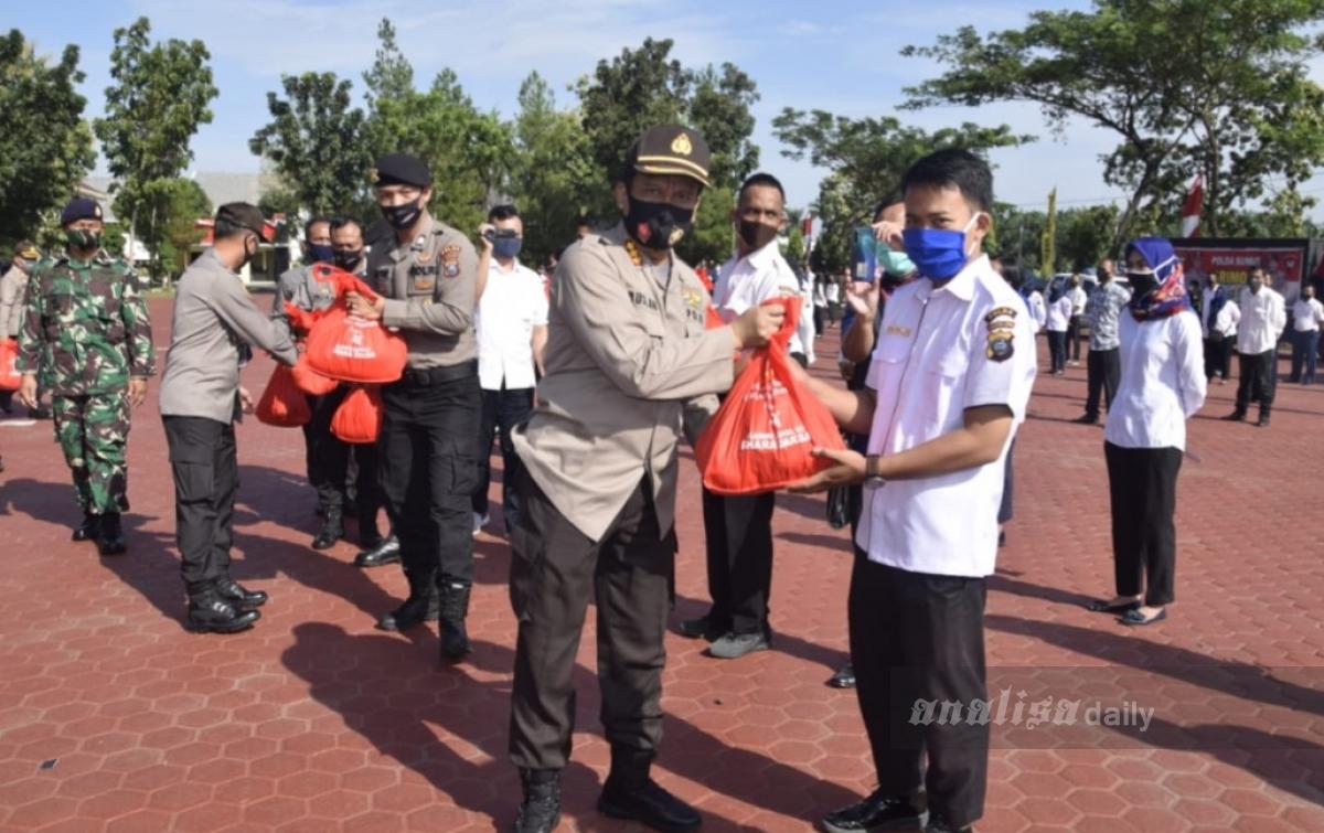 Pengabdian 29 Tahun, Alumni Akpol 1991 Bagikan Paket Sembako