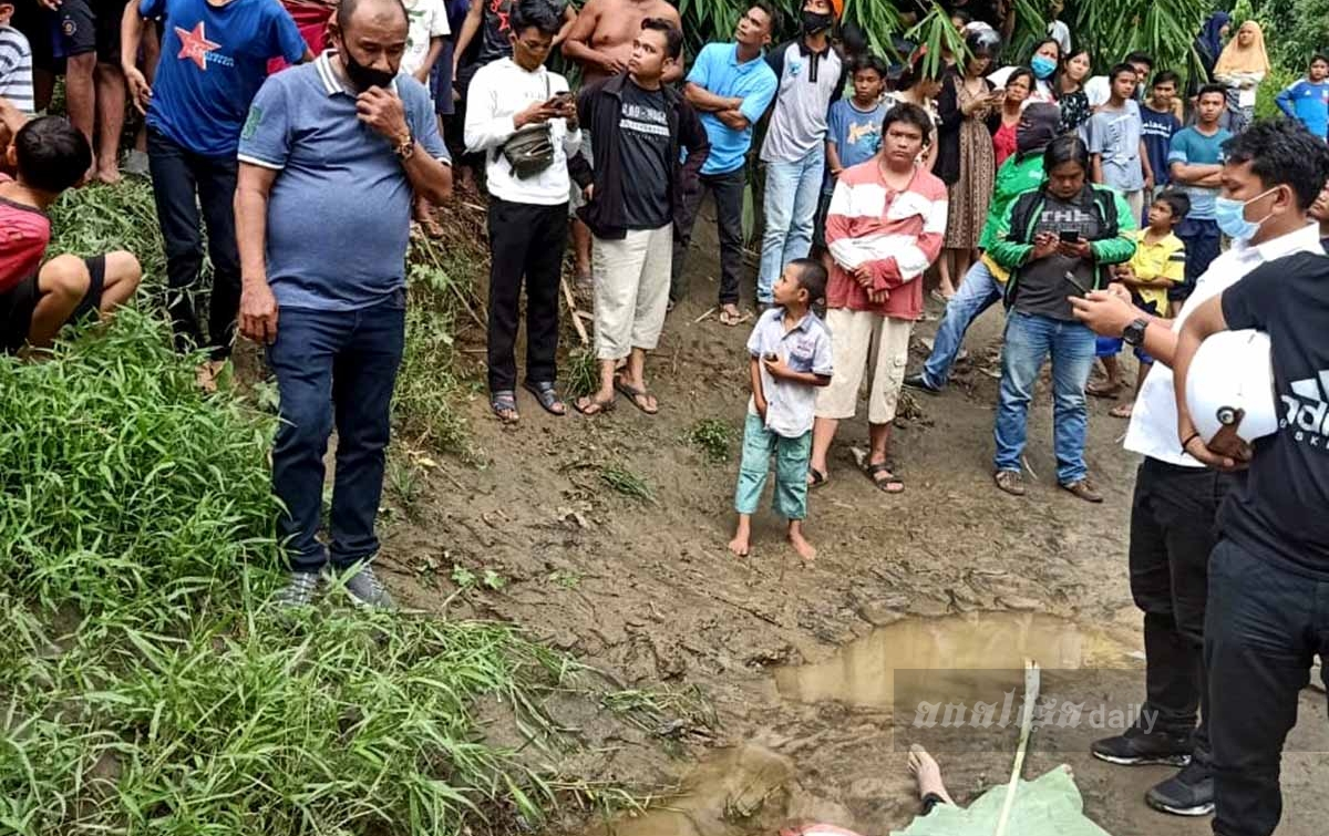 Jasad Pria Ditemukan Anak-anak Mengambang di Sungai Deli