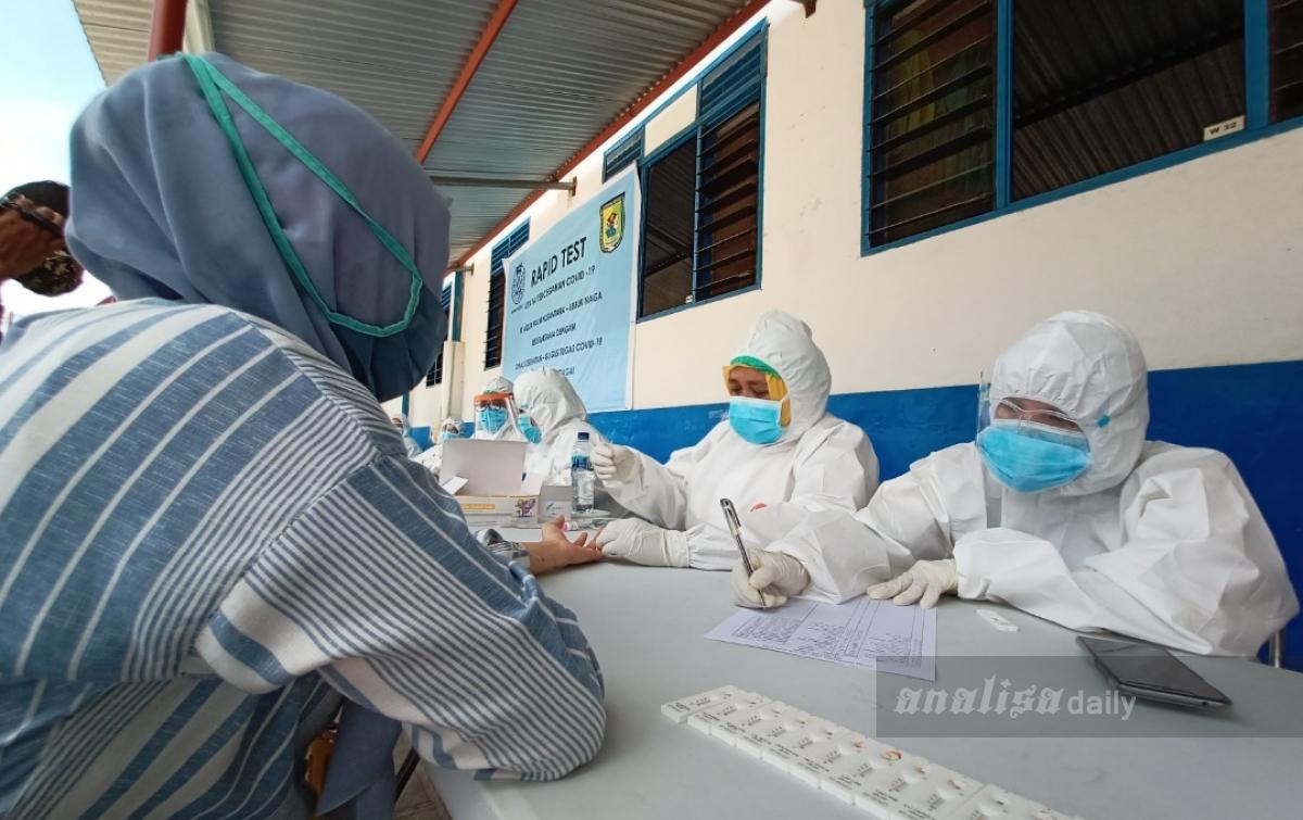 Aquafarm Nusantara Rapid Test Ribuan Karyawan